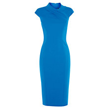 Buy Karen Millen Tailored Dress, Blue Online at johnlewis.com