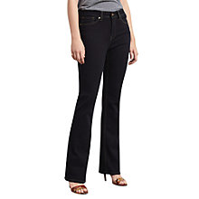 Buy Violeta by Mango Bootcut Martha Jeans, Open Blue Online at johnlewis.com