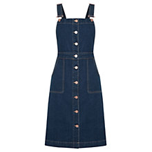 Buy Oasis Brooklyn Dungaree Dress, Denim Online at johnlewis.com