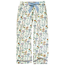 Buy Fat Face Botanical Print Lounge Pants, Ivory Online at johnlewis.com