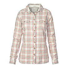 Buy Fat Face Classic Fit Linen Check Shirt, Ivory Online at johnlewis.com