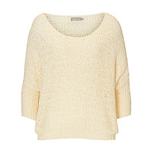 Buy Betty & Co. Ribbon Knit Jumper, Bright Cream Online at johnlewis.com