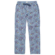 Buy Fat Face Bee Jersey Lounge Pants, Chambray Online at johnlewis.com