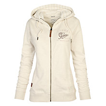 Buy Fat Face Heritage Zip Through Hoodie, Ivory Online at johnlewis.com