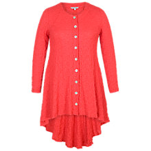 Buy Chesca Godet Back Bubble Jacket, Coral Online at johnlewis.com