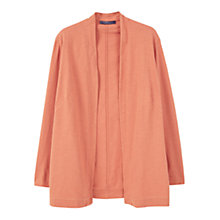 Buy Violeta by Mango Cotton Jacket, Brown Online at johnlewis.com