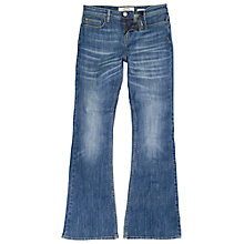 Buy Fat Face Flared Denim, Blue Online at johnlewis.com