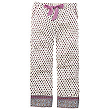 Buy Fat Face Border Lounge Pants, Ivory Online at johnlewis.com