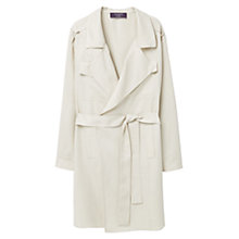 Buy Violeta by Mango Soft Trench Coat, Brown Online at johnlewis.com