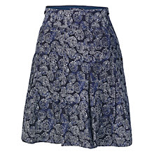 Buy Fat Face Coins Print Skirt, Navy Online at johnlewis.com