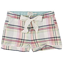 Buy Fat Face Herringbone Check Pyjama Shorts Online at johnlewis.com