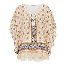 Buy Betty & Co. Floral Printed Top, Multi Online at johnlewis.com
