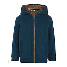 Buy John Lewis Boys' Borg Lined Hoodie Online at johnlewis.com