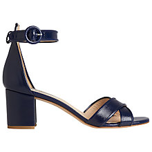 Buy L.K. Bennett Aniki Block Heel Sandals Online at johnlewis.com