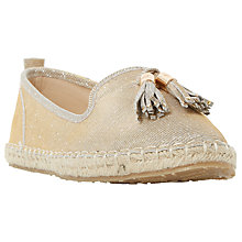 Buy Dune Grove Tassel Espadrilles Online at johnlewis.com