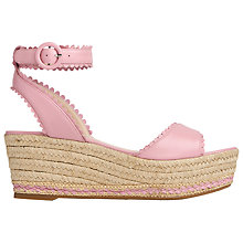 Buy L.K. Bennett Valen Flatform Sandals Online at johnlewis.com