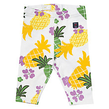 Buy Polarn O. Pyret Baby Print Leggings, Yellow Online at johnlewis.com