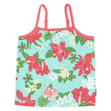 Buy Polarn O. Pyret Children's Floral Print Cami Top, Green Online at johnlewis.com