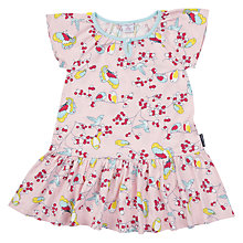Buy Polarn O. Pyret Children's Bird Print Dress Online at johnlewis.com