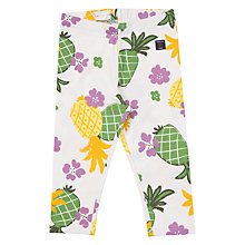 Buy Polarn O. Pyret Children's Pineapple Print Leggings, Multi Online at johnlewis.com