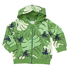 Buy Polarn O. Pyret Baby Print Hoodie Online at johnlewis.com