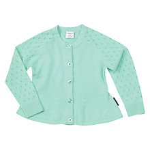 Buy Polarn O. Pyret Baby Cotton Cardigan Online at johnlewis.com