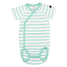 Buy Polarn O. Pyret Baby Stripe Bodysuit Online at johnlewis.com