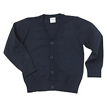 Buy Polarn O. Pyret Children's Classic Cardigan, Blue Online at johnlewis.com
