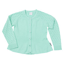 Buy Polarn O. Pyret Girls' Cotton Cardigan Online at johnlewis.com