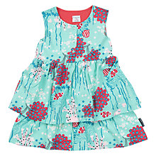 Buy Polarn O. Pyret Children's Floral Ruffle Dress Online at johnlewis.com