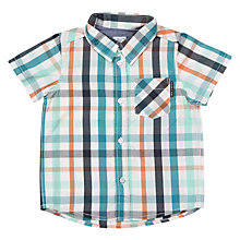 Buy Polarn O. Pyret Baby Check Print Shirt Online at johnlewis.com