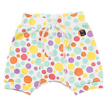 Buy Polarn O. Pyret Baby Polka Dot Shorts, White Online at johnlewis.com