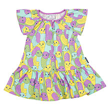 Buy Polarn O. Pyret Baby Bird Print Dress Online at johnlewis.com