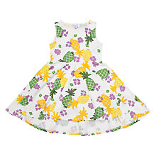 Buy Polarn O. Pyret Girls' Tropical Dress, Multi Online at johnlewis.com