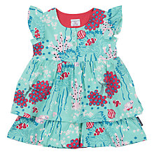 Buy Polarn O. Pyret Baby Ruffle Dress Online at johnlewis.com