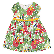 Buy Polarn O. Pyret Baby Meadow Dress, Green Online at johnlewis.com