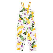 Buy Polarn O. Pyret Children's Print Jumpsuit Online at johnlewis.com