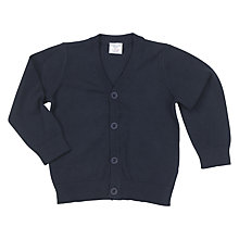Buy Polarn O. Pyret Baby Classic Cardigan, Blue Online at johnlewis.com