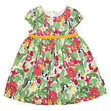 Buy Polarn O. Pyret Children's Meadow Dress, Green Online at johnlewis.com