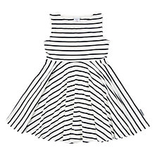 Buy Polarn O. Pyret Children's Stripe Dress, Blue Online at johnlewis.com