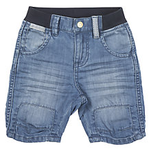 Buy Polarn O. Pyret Baby Denim Shorts, Blue Online at johnlewis.com