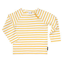 Buy Polarn O. Pyret Children's Striped Long Sleeve Top Online at johnlewis.com