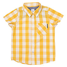 Buy Polarn O. Pyret Children's Check Print Shirt Online at johnlewis.com