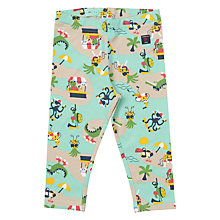 Buy Polarn O. Pyret Baby Beach Print Leggings, Green Online at johnlewis.com