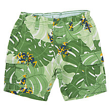 Buy Polarn O. Pyret Baby Cargo Shorts, Green Online at johnlewis.com