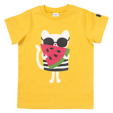 Buy Polarn O. Pyret Children's Mouse Print T-Shirt Online at johnlewis.com