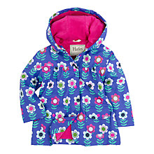 Buy Hatley Girls' Nordic Flow Classic Raincoat, Purple Online at johnlewis.com