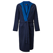 Buy HUGO BOSS Double Face Hood Robe Online at johnlewis.com
