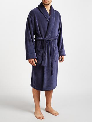 John Lewis & Partners Sheared Fleece Robe