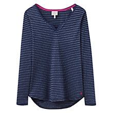 Buy Joules Nita Stripe Jersey Pyjama Top, Star Stripe Online at johnlewis.com